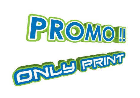 promo only print