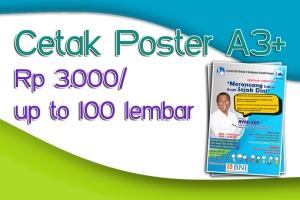 cetak poster